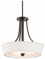 Kichler 42442OZ Glissade Duo-Mount Pendant Lighting/Semi Flush Ceiling Light