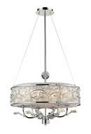 ELK 230046 Calista Duo-mount Semi-flush Ceiling Light/Pendant Light with Crystal