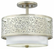 Quoizel JS1715BN Josslyn Contemporary Semi-Flush Ceiling Light