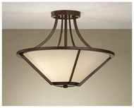 Feiss SF296HTBZ Nolan Semi-Flush Mount Ceiling Light