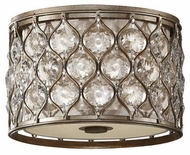 Feiss FM355BUS Lucia Flush Mount Ceiling Light