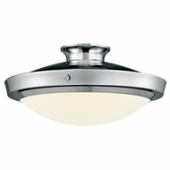 Kichler 42137CH Fremont Extra Large 18  Chrome Duo-mount Drop Lighting/Ceiling Light Fixture