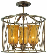 Troy F3043MB Meritage Semi-Flush Ceiling Light/Pendant Light