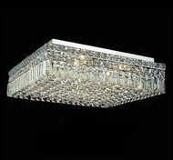 Worldwide 33519 Worldwide 20  12-light Semi-Flush Ceiling Light