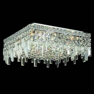Worldwide 33618 Worldwide 16  6-light Semi-Flush Ceiling Light w/ Accent