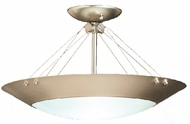 Kichler 3744NI Satin Etched 2 Light Flushmount Ceiling Fixture