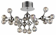 ELK 3002618 Molecular Modern Large Semi-Flush Ceiling Light