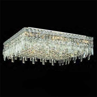 Worldwide 33620 Worldwide 24  13-light Semi-Flush Ceiling Light