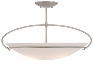 Quoizel BE1722BN Blake Extra Large 22  Modern Semi-flush Ceiling Lighting