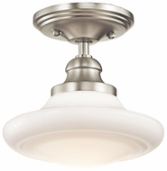 Kichler 42268NI Keller Small Duo-Mount Semi-flush/Pendant Lighting