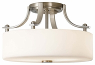 Feiss SF259BS Sunset Drive Contemporary Style Semi-Flush Ceiling Light