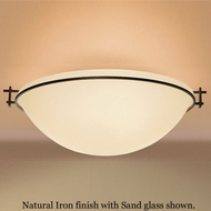 Hubbardton Forge 12-4253 Moonband Semi-Flush Tapered Basin Ceiling Light