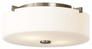 Feiss FM313BS Sunset Drive Contemporary Style Flush-Mount Ceiling Light