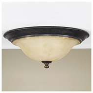 Feiss for Less FM266LBR Cervantes Traditional Flush Mount Ceiling Light
