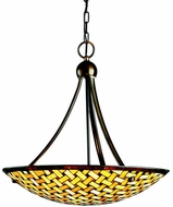 Kichler 65269 Art Glass Tiffany Inverted Pendant Light