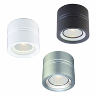 CSL SS1015B Entity Modern Ceiling Light with Opal Conical Glass and Low Voltage Option