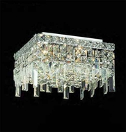 Worldwide 33617 Worldwide 14  5-light Semi-Flush Ceiling Light w/ Accent