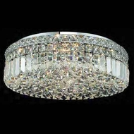 Worldwide 33508 Worldwide 20  5-light Crystal Semi-Flush Ceiling