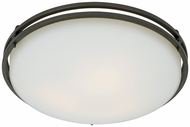 Quoizel OZ1616IN Ozark Contemporary Flush Mount Ceiling Light - 16 inches