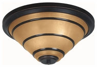 Kenroy Home 90082ORB Wright Flush Mount Ceiling Light