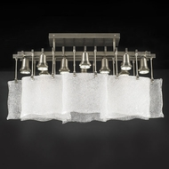 PLC 23030-SN Carilon Contemporary Semi-Flush Ceiling Light