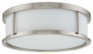 Nuvo 603812 Odeon ES 15  Ceiling Lamp in Brushed Nickel