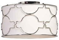 Artcraft SC646 Morocco Round Contemporary Semi-Flush Ceiling Light