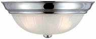 Quoizel ML1834C Melon Large 15  Flush Mount Ceiling Light Fixture