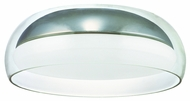 CSL SS1031-CH Metro Fluorescent Flush Mount Ceiling Light