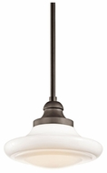 Kichler 42269NI Keller Medium Convertible Pendant Lamp/Semi Flush Mount Ceiling Light