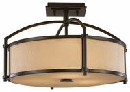 Feiss SF270HTBZ Preston Semi-Flush Ceiling Light