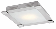 Access 50058 Carbon Contemporary 1 Light 12 inch Flushmount Ceiling Fixture