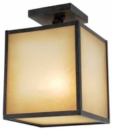 World Imports 906855 Hilden Contemporary Style Outdoor Semi-Flush Ceiling Light