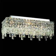 Worldwide 33629 Worldwide 20  4-light Semi-Flush Ceiling Light