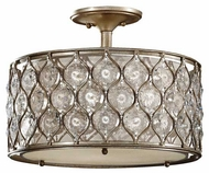 Feiss SF289BUS Lucia Semi-Flush Ceiling Light