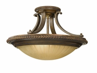 Feiss SF262FGBRB Kelham Hall Traditional Semi-flush Ceiling Light