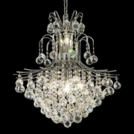 Elegant 8002D22C-RC Toureg Chrome Medium Crystal Pendant Lamp