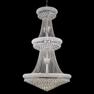 Elegant 1800G36C-RC Primo 66  Chrome Crystal Foyer Light Chandelier