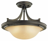 Feiss for Less SF195ORB Pub Semi-Flush Ceiling Light