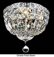 Worldwide 33008 Worldwide Crystal Flush Mount Ceiling Light