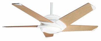Casablanca 60819 Stealth Architectural White Finish Modern 54 Inch Span Ceiling Fan