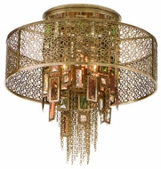 Corbett 12334 Riviera Large Semi-Flush Ceiling Light