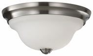Feiss FM360BS Beckett Contemporary Small Flush Mount Ceiling Light