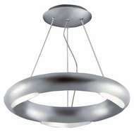 Kenroy Home 90864SIL Annello Modern Halogen Semi-Flush Ceiling Light