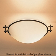 Hubbardton Forge 12-4251 Moonband Semi-Flush Shallow Ceiling Light