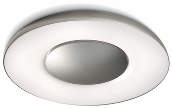Philips 326134848 Ecomoods Light Diffuser Contemporary Ceiling Mounted Light With Nickel Finish