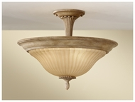 Feiss SF298MAW Blaire Rustic Semi-Flush Mount Ceiling Light