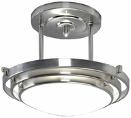 Quoizel Electra Semi-Flush in Brushed Chrome