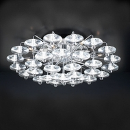 PLC 96981-PC Diamente 12-Lamp Ceiling Light Fixture