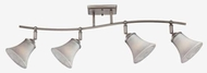 Quoizel DH1404AN Duchess 4-Light Track Light in Antique Nickel